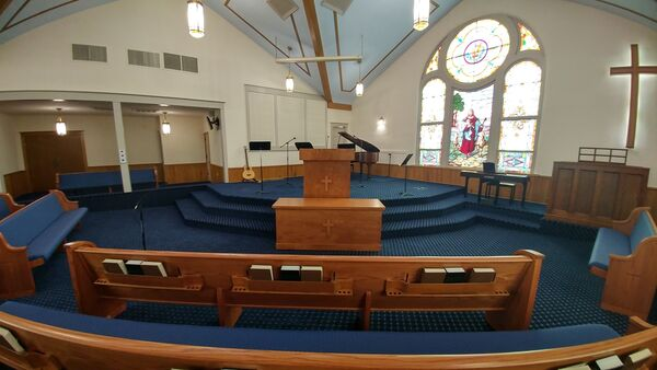 Tremont Baptist Redecoration