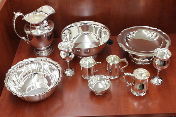 Restored Metalware Cups & Bowls