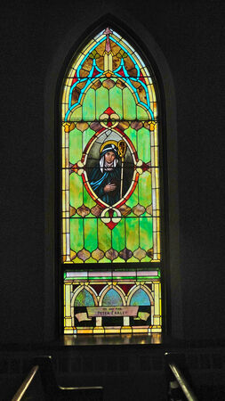 Restored Stained Glass Window