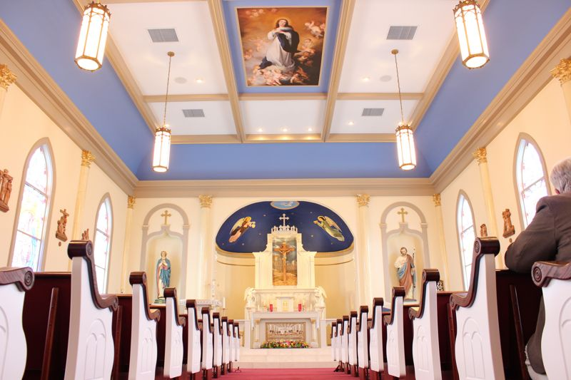 Restored Church - Immaculate Conception