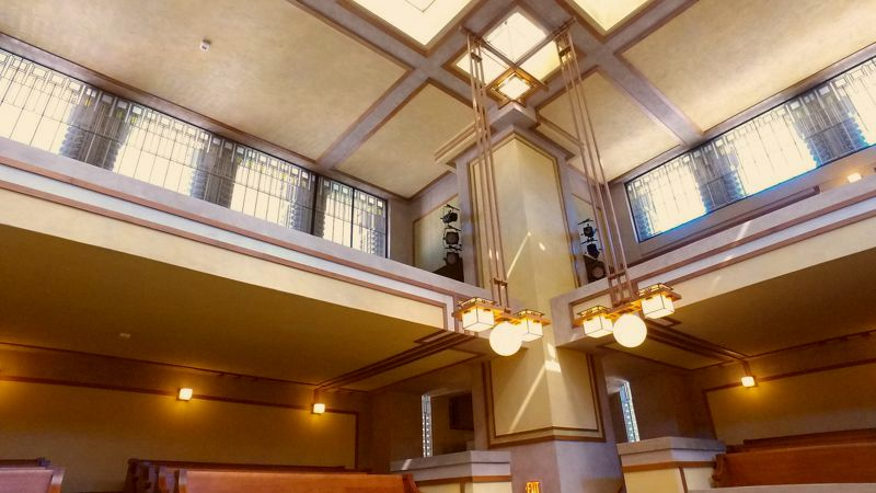 Restored Unity Temple