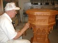 Baptism Font Finish Repairs