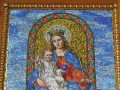 Mosaic of Mother Mary and Child